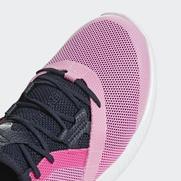 reputable site a3fff 4d10c Chaussure adizero Defiant Bounce Shock Pink  Legend Ink Ftwr White AH2111