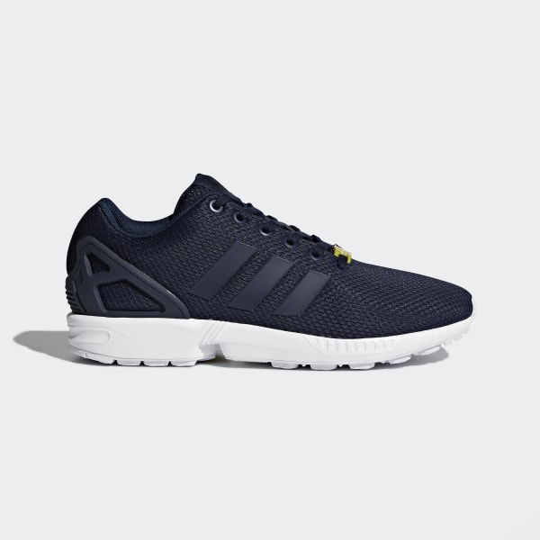 324f11b68efaf ZX Flux Shoes Dark Blue   Core White   Core White M19841