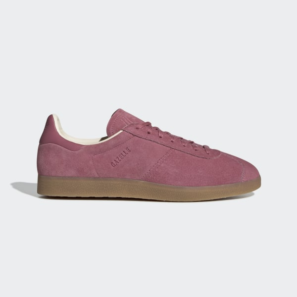 low priced 061b7 4bbda Gazelle Shoes Trace Maroon   Ecru Tint   Gum 3 BD7489