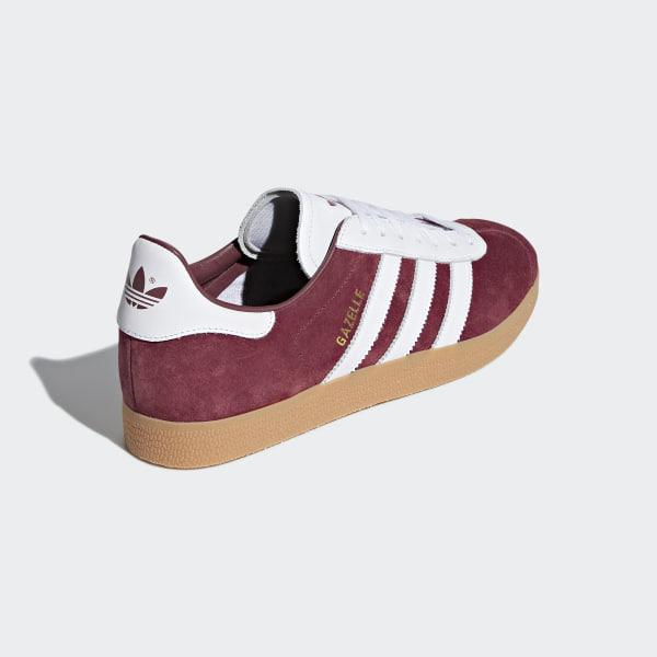 sale retailer d4925 7d16e Gazelle Shoes Collegiate Burgundy  Cloud White  Cloud White AQ0878