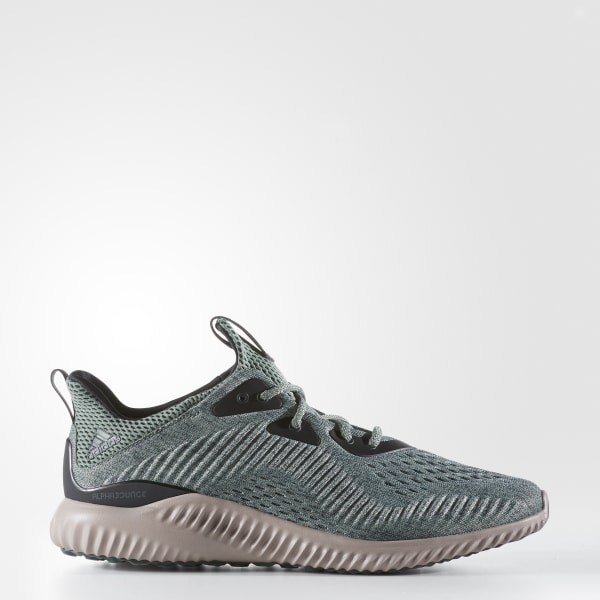 f3ab853edbbb8 Alphabounce Shoes Utility Ivy   Trace Green   Grey BB9042