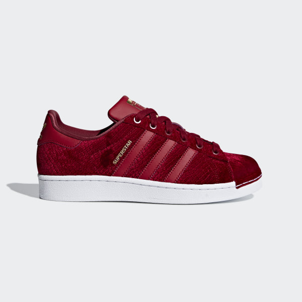 newest ef83a 833e3 Tenis SUPERSTAR W NOBLE MAROON NOBLE MAROON FTWR WHITE B41512