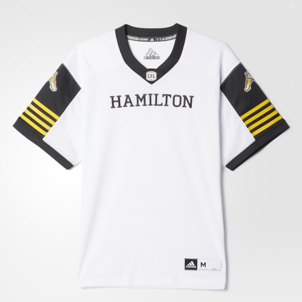 adidas Tiger-Cats Away Jersey - White  3f1441e72