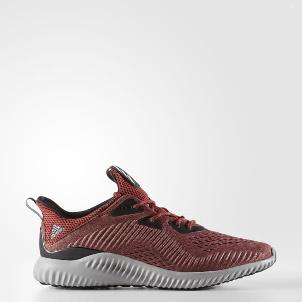 f60b928e01319 Alphabounce Shoes Mystery Red   Cloud White   Core Black BB9045