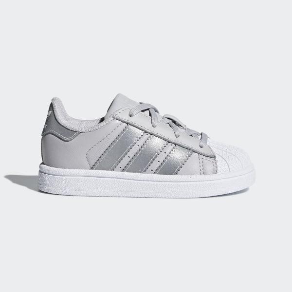 23772c06b81e38 Superstar Shoes Lgh Solid Grey Silver Metallic Ftwr White CQ2855