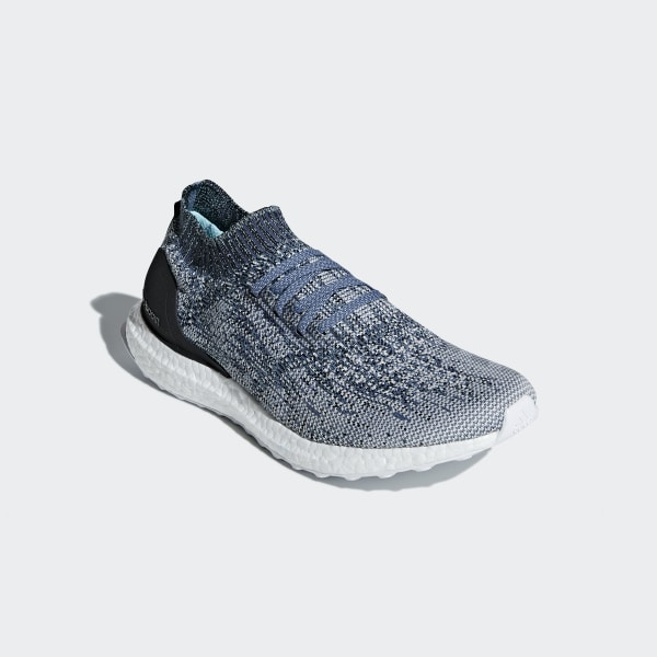 85005f166b3a Ultraboost Uncaged Parley Shoes Raw Grey   Chalk Pearl   Blue Spirit AC7590