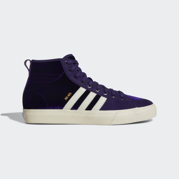 big sale 704a8 c3105 Matchcourt High RX Shoes Dark PurpleCream WhiteGold Metallic CQ1119