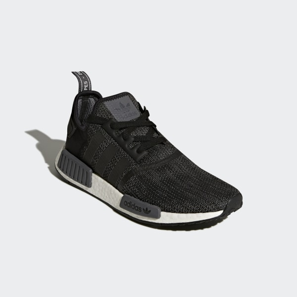 NMD R1 Shoes Core Black   Carbon   Cloud White B79758 31b2e1afab