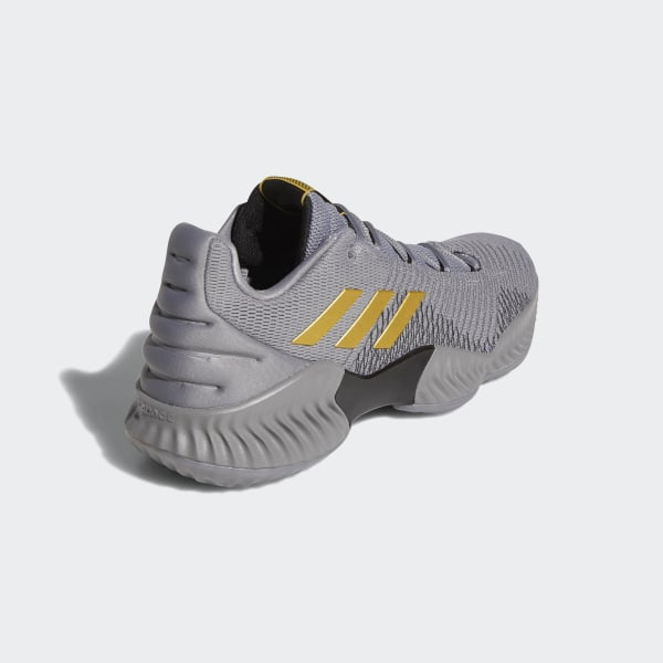 f569728a9 Pro Bounce 2018 Low Shoes Grey Three   Gold Met.   Grey Four AH2683