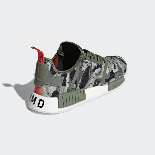 88a17069663eb NMD R1 Shoes sesame   sesame   solar red G27914