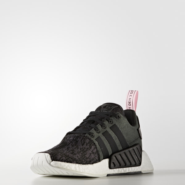 58e2419a9 NMD R2 Shoes Core Black   Core Black   Wonder Pink BY9314
