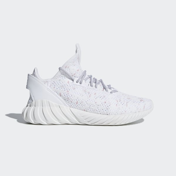 Tubular Doom Sock Primeknit Shoes Cloud White   Grey   Collegiate Burgundy  CQ0941 da0770b16