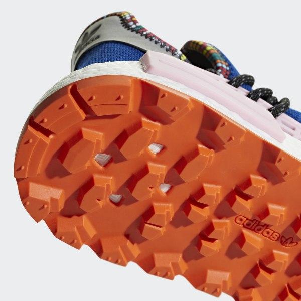 PW SOLAR HU NMD Powder Blue   Light Pink   Orange EE7579 dcc66df4230