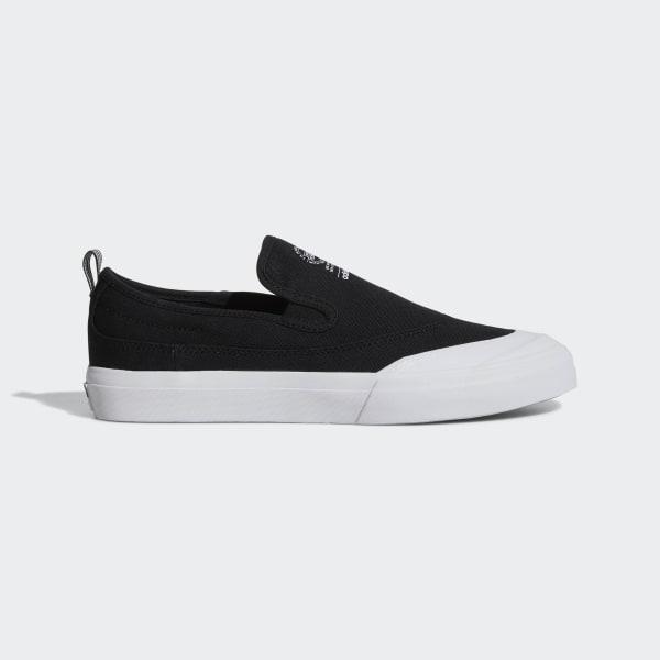 ec7193c1b872 Matchcourt Slip-on ADV Shoes Core Black   Core Black   Ftwr White F37387
