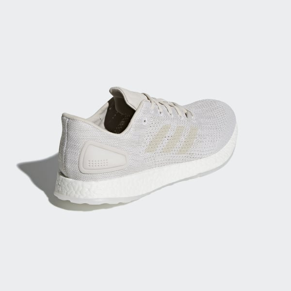 bae9cbd9bedc9 Pureboost DPR Shoes Grey One   Chalk Pearl   Cloud White BB6295