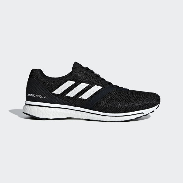 separation shoes 78f51 5f861 Zapatilla Adizero Adios 4 Core Black  Ftwr White  Core Black B37312