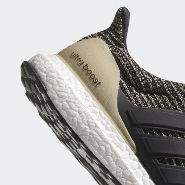 0fa5a620747be Ultraboost Shoes Core Black Core Black Raw Gold BB6170