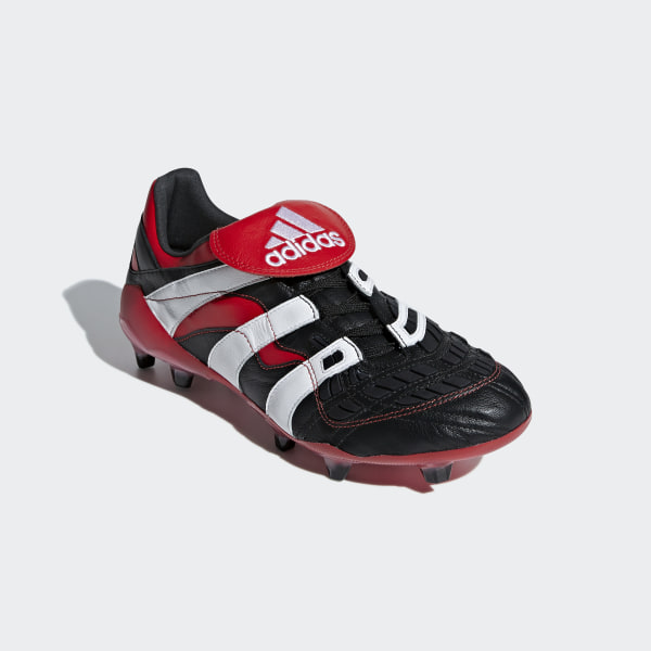 51460af320f8 Predator Accelerator Firm Ground Boots Core Black   Ftwr White   Red D96665