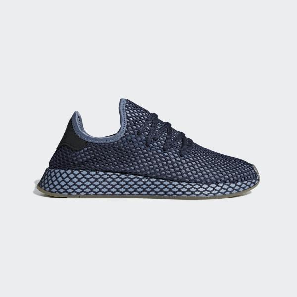new style 863d0 ccac8 Chaussure Deerupt Runner Dark Blue  Dark Blue  Ash Blue B41772