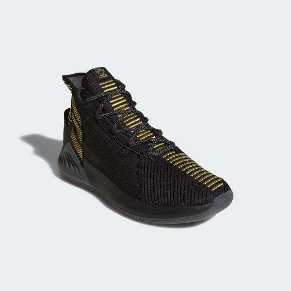 timeless design 106fc ec637 D Rose 9 Shoes core black  grey five  gold met. BB7657