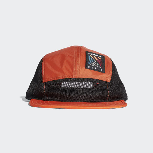 Atric Five-Panel Cap Trace Orange Black CE2368 5d9b9436477