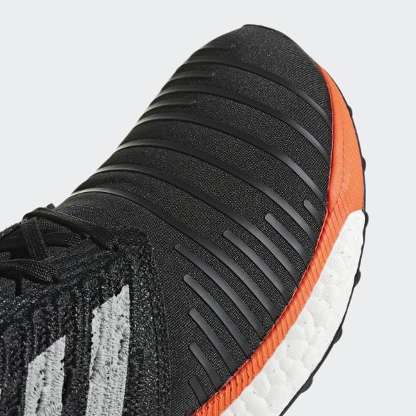 a8c6e52fc1f30a SolarBoost Shoes Core Black   Grey Two   Hi-Res Aqua CQ3168