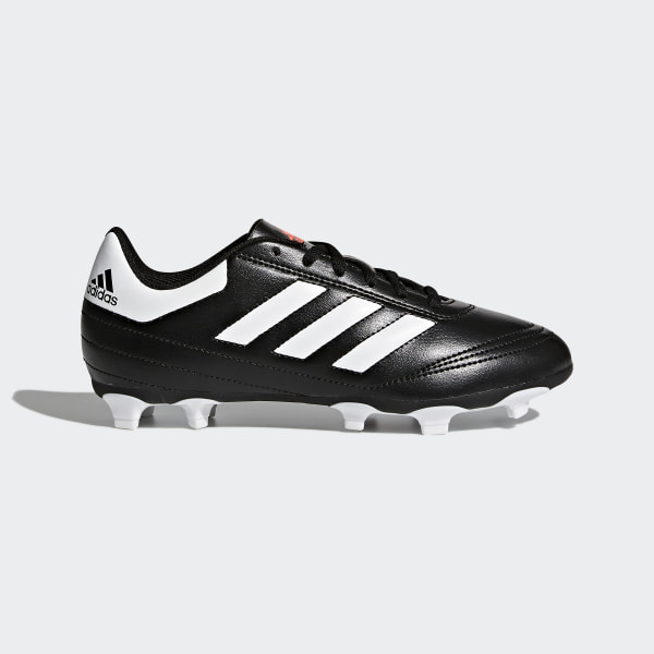 b85bfa56fd5c0 Zapatos de fútbol para pasto natural seco Goletto 6 Niños CORE BLACK FTWR  WHITE