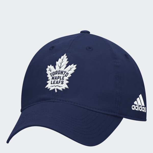 adidas Maple Leafs Adjustable Slouch Cap - White  6e7dbe7cdc68