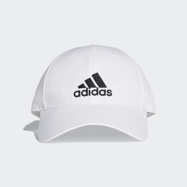 adidas Classic Six-Panel Lightweight Cap - White  88f6cdeeac8