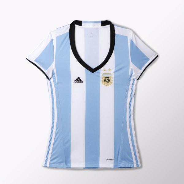 ea36d23d91 Camiseta Titular Selección Argentina Mujer CLEAR BLUE   WHITE   BLACK AH4987
