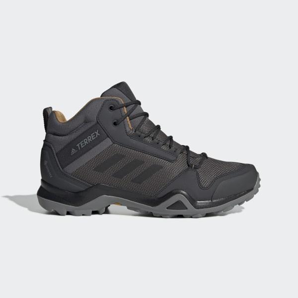 100% authentic bc546 57464 Terrex AX3 Mid GTX Shoes Grey Five   Core Black   Mesa BC0468
