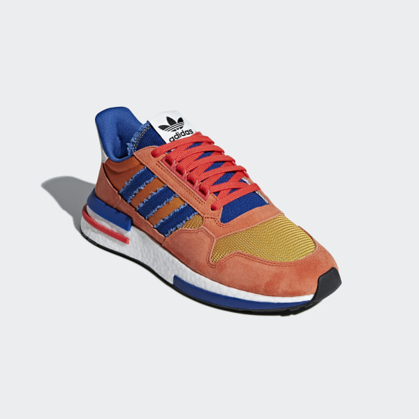 f0159c8da Dragonball Z ZX 500 RM Shoes Orange   Collegiate Royal   Hi-Res Red D97046