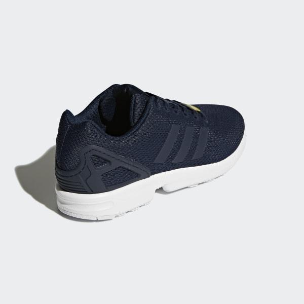 6b126dd6f ZX Flux Shoes Dark Blue   Core White   Core White M19841