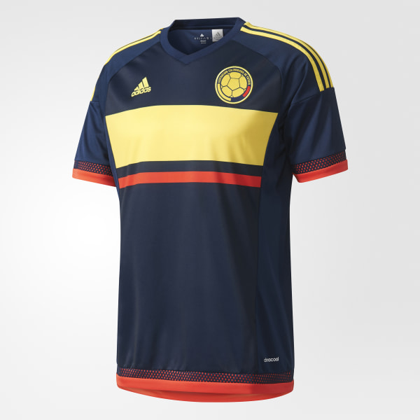 Colombia Away Jersey Collegiate Navy   Bright Yellow   Bright Red M62761 2e9658565