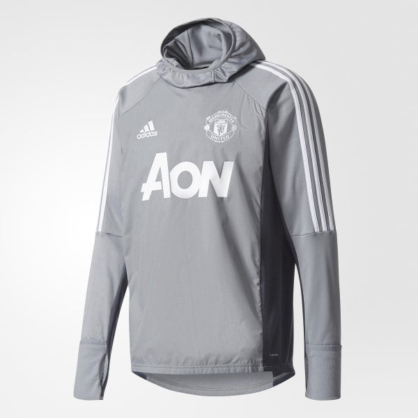 ca51749a76 Manchester United Warm Top Grey Night Grey White BS4367
