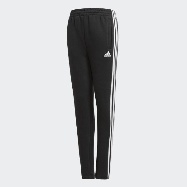 adidas Tepláky Essentials 3-Stripes Fleece - čierna  426b24e5dbc