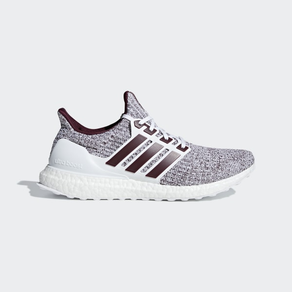 a192b6f0b Ultraboost Shoes Cloud White   Maroon   Maroon EE3705