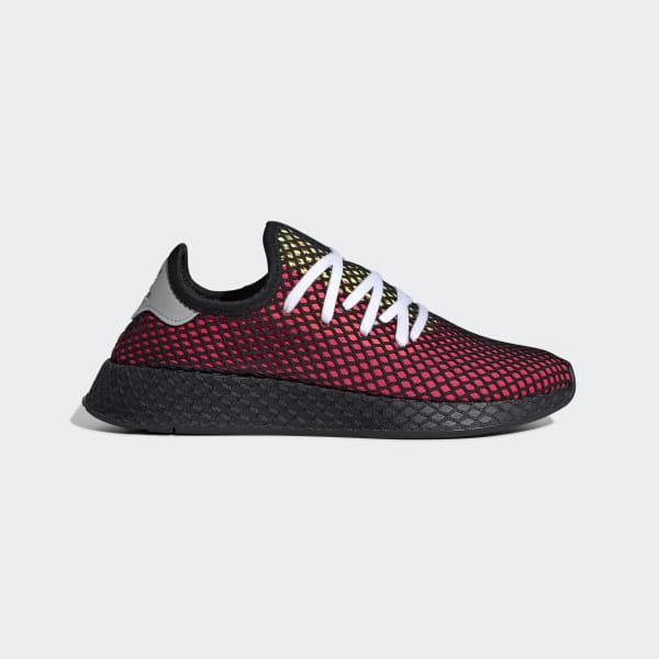 700ce71ddaf Deerupt Runner Shoes Shock Red   Real Lilac   Core Black CM8448