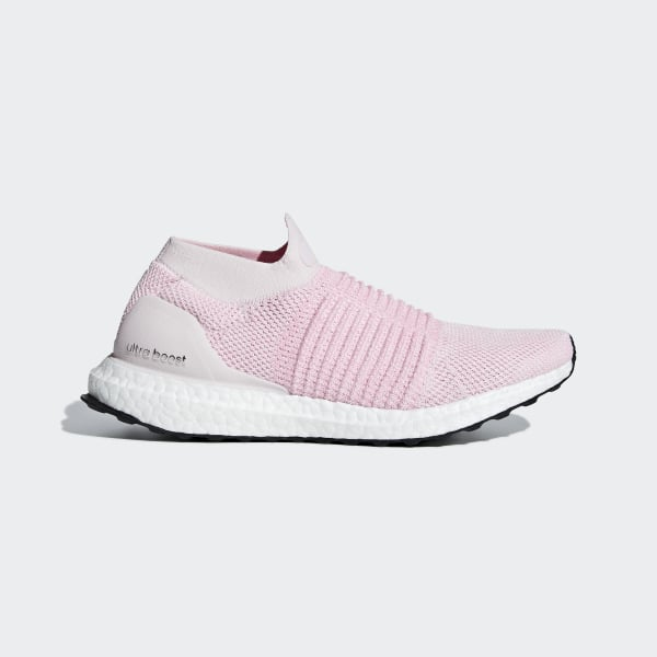 611925fe13ade Ultraboost Laceless Shoes Pink   True Pink   Carbon B75856