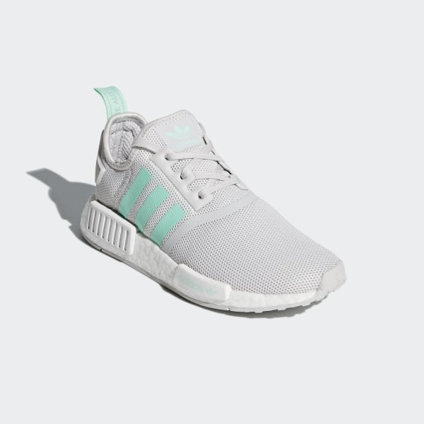 ed425caae2d4 NMD R1 Shoes Grey One   Clear Mint   Clear Mint D96689