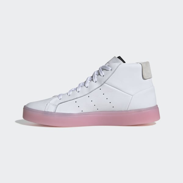 da51352f3b9 adidas Sleek Mid Shoes Ftwr White   Ftwr White   Diva EE8612