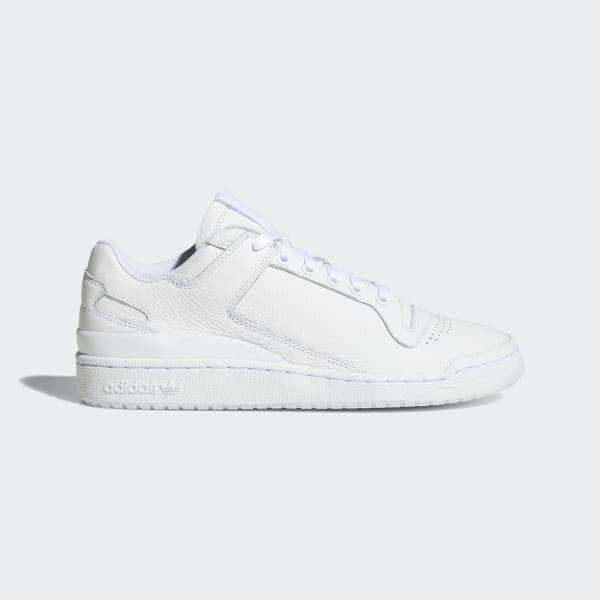 Sapatos Forum Low Decon Ftwr White   Ftwr White   Blue B37873 a825d74a3aa1d