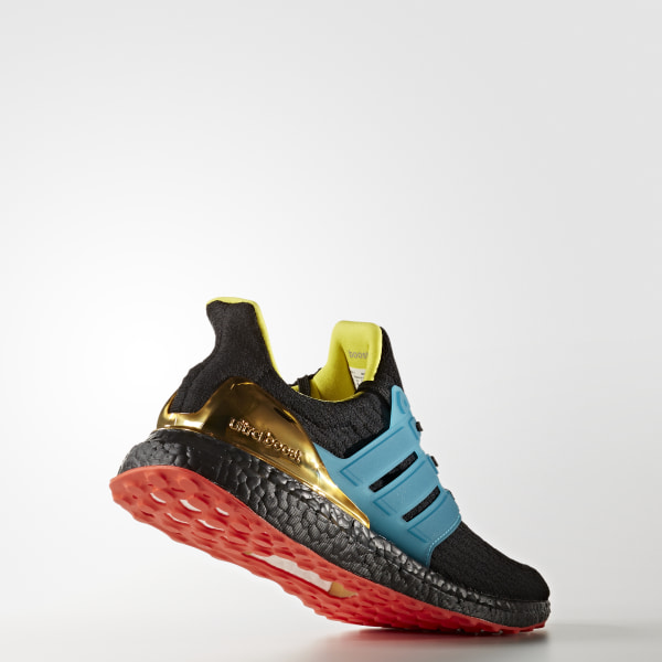 6abe3e44207ee Ultra Boost kolor Shoes Core Black   Lab Green   Bright Yellow AH1485
