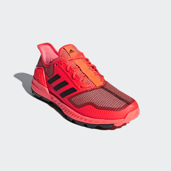 new arrival 9a7ee aa806 Adipower Hockey Shoes Solar Red  Core Black  Solar Red AC8776