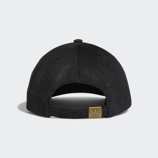 adidas Relaxed Strap-Back Hat - Black  588e790f449