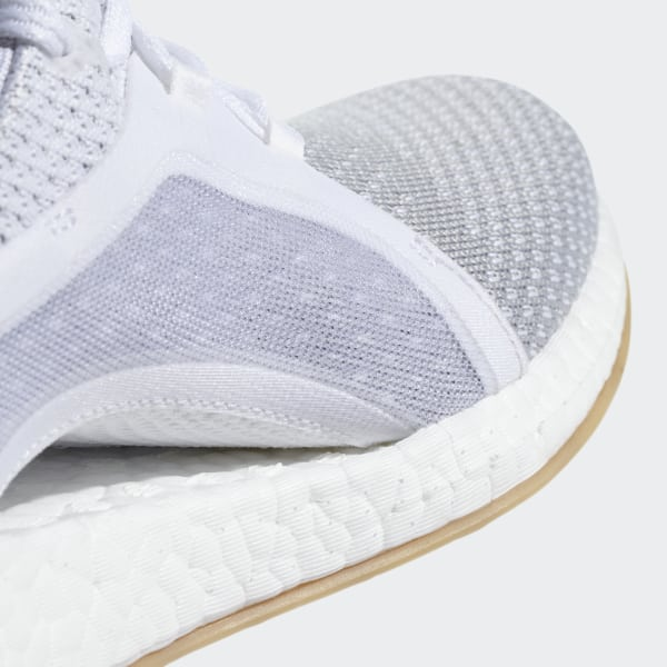8cbe62af2b Pureboost X Clima Shoes Ftwr White Silver Metallic Grey Two BB6089