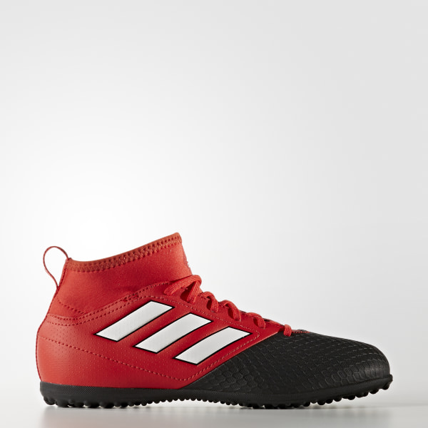 best loved 0d58b 3311c Botines de fútbol ACE 17.3 Primemesh Césped Sintético RED FTWR WHITE CORE  BLACK BA9225