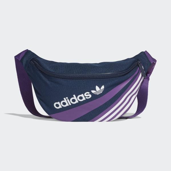 Waist Bag Collegiate Navy   Tribe Purple EC2505 91055fc61a32d