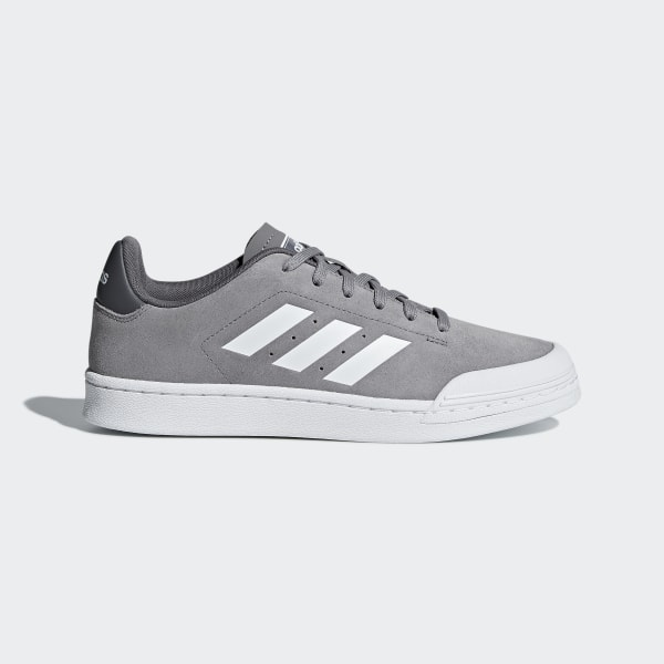 Tenis Court 70s GREY THREE F17 FTWR WHITE GREY FIVE B96223 b65ed8bfc80
