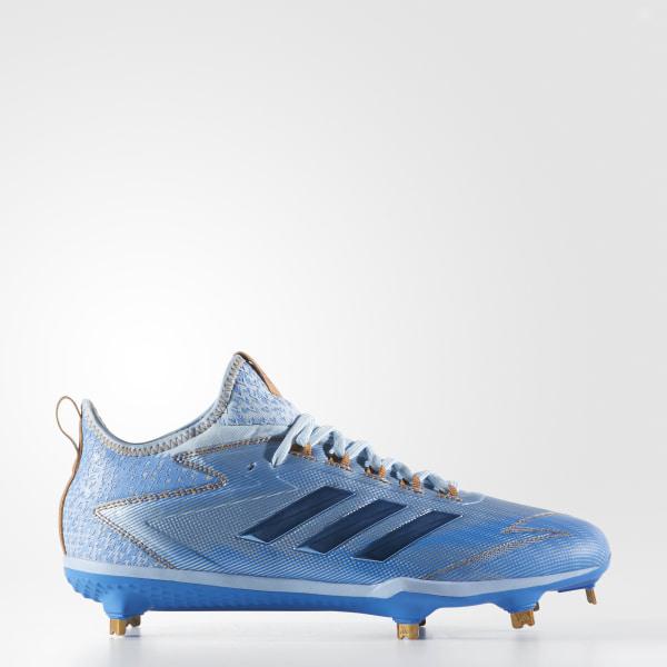 best sneakers 66cab 913e1 adizero Afterburner 4 Father s Day Cleats Collegiate Purple   Blue   Aqua  CG4538